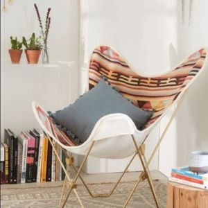 Kilim Butterfly Chair Cover Urban Outfitters Rare